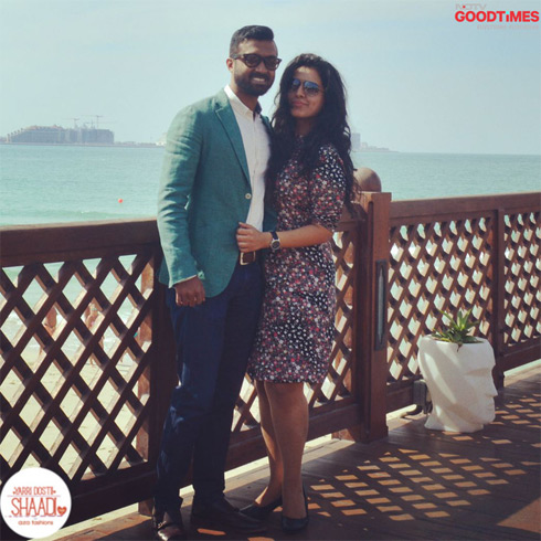 Meet our very first couple of Yarri Dostii Shaadi Season 3 with Aza Fashions, Diwiya & Pradeep.