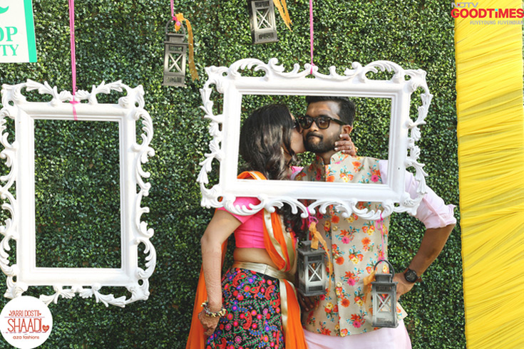 Diwiya and Pradeep fell in love during their MBA years, and have left no stone unturned since then to convince their families to accept their relationship. And long at last, here they are, getting married in Goa.