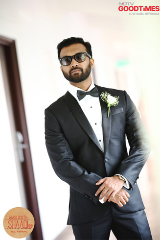 "Looking every bit suave, Pradeep is ready to woo his ""one and only""."