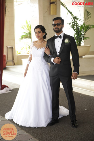 As if right out of a fairytale, Diwiya and Pradeep look like a pair made in heaven.