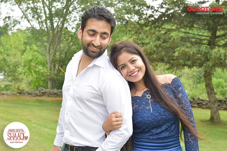 Meet Abhishek and Anshul, the hero and heroine of their own romantic movie. Their story makes us believe that if it is true love, it will always find its way back to you.