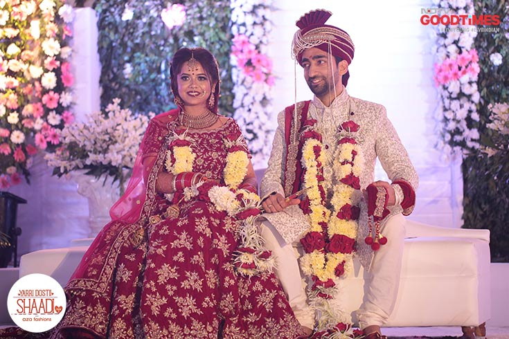 After their big fat Indian wedding, Abhishek and Anshul are now Mr and Mrs.