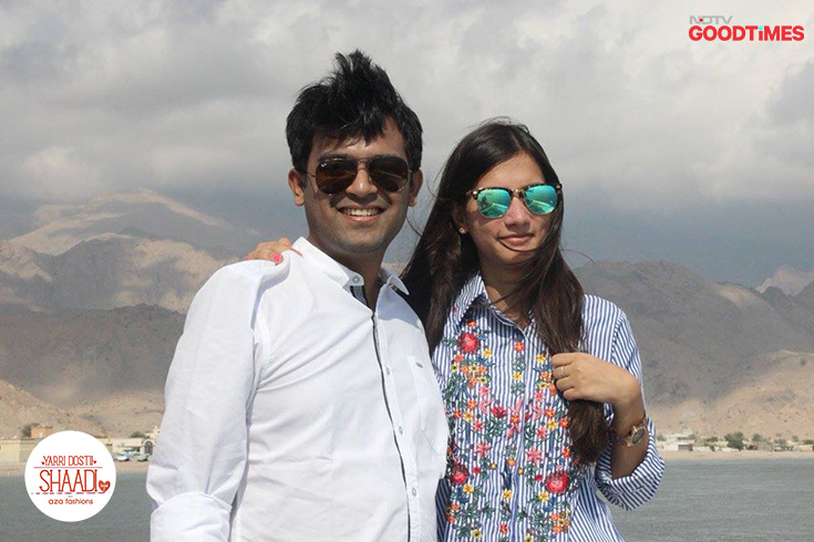 Meet high school sweethearts Megha and Mayank, Yarri Dostii Shaadi's next couple. They fancied each other in school and confessed their love to a common friend, albeit individually. It was this best friend who played Cupid and brought them together.