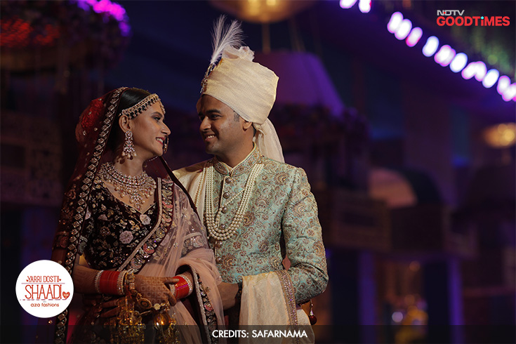 The happy couple Mayank and Megha are finally bound in marriage and are overjoyed at the prospect of spending a lifetime together.