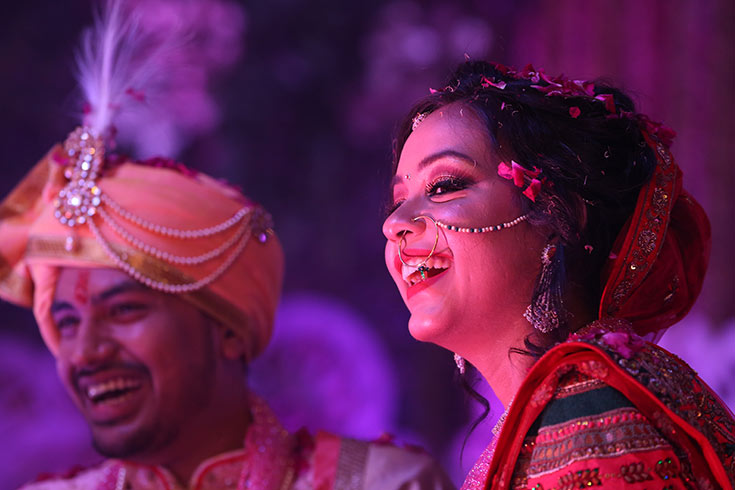 Hitesh and Parul couldn't be happier to kickstart the beginning of a forever, together!
